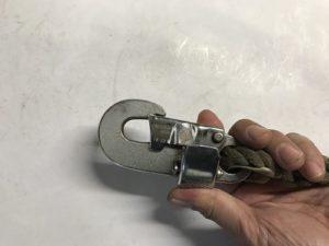 安全帯ベルト側取付-2